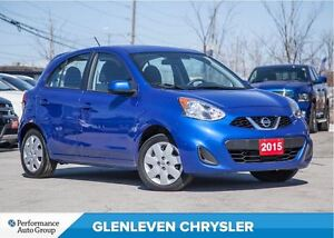 2015 Nissan Micra SV | BLUETOOTH | A/C | PWR GROUP