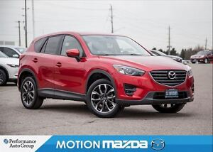 2016 Mazda CX-5 GT AWD Leather Roof Navi