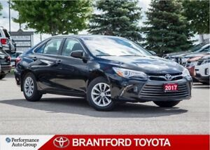 2017 Toyota Camry LE, Black, TCUV Eligable, Carproof Clean