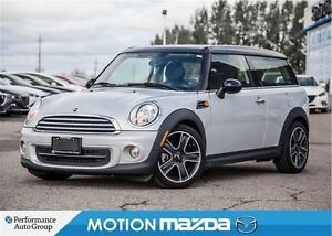 2014 MINI Cooper Clubman Auto+Paddle Shifters Panoramic Sun Roof