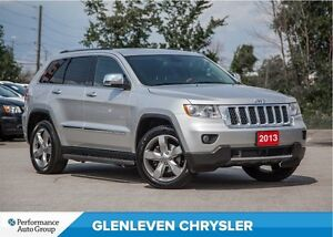 2013 Jeep Grand Cherokee Overland | PANORAMIC SUNROOF | ADAPTIVE