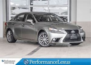 2014 Lexus IS 250 AWD 6A PREMIUM PACKAGE !!