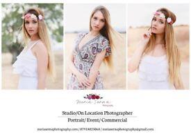 Professional Photographer - Portrait/Event/Commercial