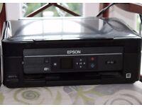 Inkjet Printer EPSON (xp312) w. Wi-Fi/USB + ink
