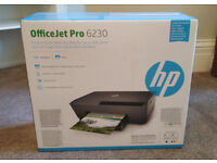 HP Officejet Pro 6230 wireless colour InkJet Printer, Airprint, brand new & sealed in box, £30