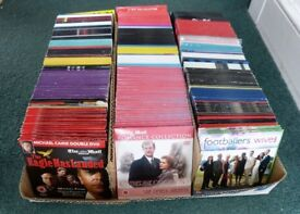4,000-5,000 DVDs for CAR BOOTING from Daily Mail and other Newspapers, Many Never Played