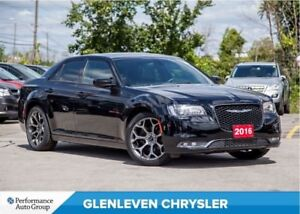 2016 Chrysler 300 S | PANORAMIC SUNROOF | NAV | BU CAM