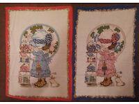 Tea towels (Collectors items)