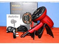 New Babyliss 1800 watt hairdryer