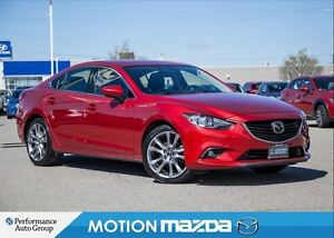2015 Mazda MAZDA6 GT Tech Leather Roof Navi