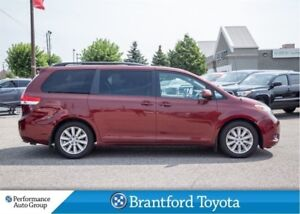 2013 Toyota Sienna XLE, FWD, Leather, Sunrooof, BU Camera
