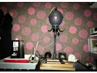Photographic enlarger and other darkroom equipment