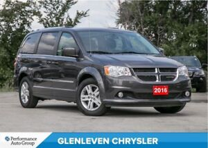 2016 Dodge Grand Caravan Crew | BLUETOOTH | BU CAMERA | HEATED S
