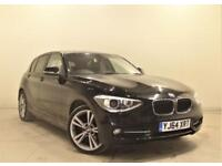 BMW 1 SERIES 2.0 116D SPORT 5d 114 BHP + 1 PREV OWNER + SERVICE HISTORY (black) 2014