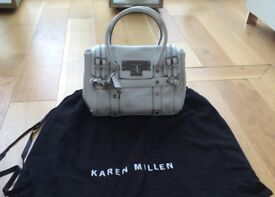 Karen Millen - Leather White Handbag - £88 ono