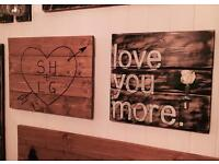 'Love You More' Wall Art