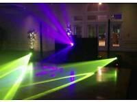 Moving heads x3 DJ Lighting