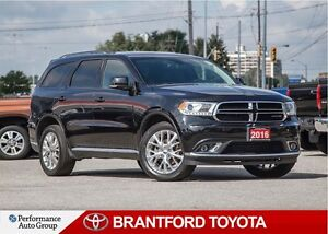 2016 Dodge Durango Limited, Leather, Sunroof, Back Up Camera