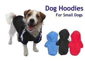 Dog Hoodie for Small Dogs, Puppy Cotton Coat Jacket Jumper soft The Gap Brisbane North West Preview