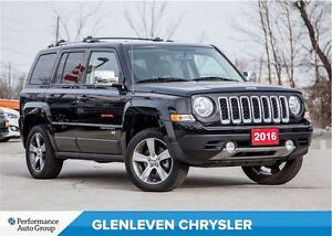 2016 Jeep Patriot HIGH ALTITUDE | 4X4 |NAV | SUNROOF | ONE OWNER