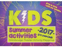 Kids Summer Activities - Themed Playgroup Sessions!