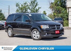 2016 Dodge Grand Caravan Crew + | LEATHER | BU CAM | PWR SLID DO