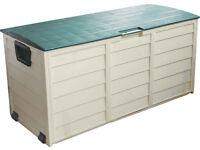 Heavy duty Garden Waterproof Storage Cushion Box Lockable Shed
