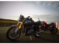 Triumph Thruxton R 2016 with extras low mileage FSH better than NEW condition