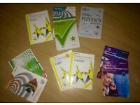 Study books physics , business management etc