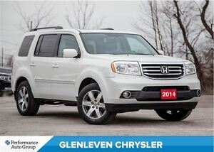 2014 Honda Pilot Touring | NEW TIRES | NAV | DVD | LEATHER | BAC