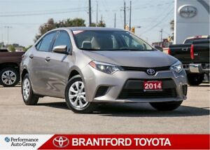 2014 Toyota Corolla LE ECO, One Owner, Trade In, BU Camera