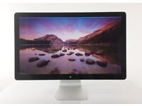 "27"" Apple Cinema LED Display Widescreen Monitor A1316 A A+ Grade"
