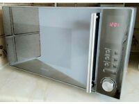 4 MTHS NEW! KENWOOD STAINLESS STEEL 900 W MICROWAVE *EXTRA 3 YR. EXTENDED WARRANTY INCLUDED*