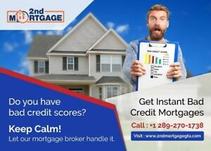 Simplify Your Search for  2nd Mortgage and Private Funds   NO Credit/All Qualify- Serving GTA  Text or Call 289-270-1738