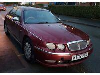 Rover 75 connoisseur 2.0 diesel 2002 red