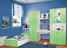 Children,kids bedroom furniture sets,5 pieces,Mattress Included