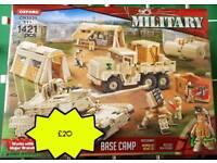 Military Lego Base Camp