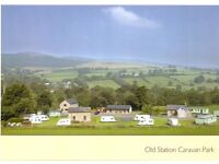 Well Established Caravan Park For Sale in Lovely Mid Wales.