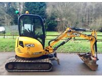 Digger Hire with driver day call Jamie 07956055636