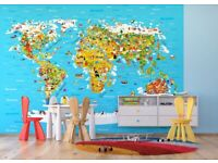AG DESIGN Map Giant Wall Poster, Paper, Multi-Colour, 410 x 254 cm 22