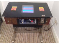 Table top Space Invader (Enigma 2) original 80's arcade game machine