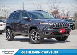 2014 Jeep Cherokee Trailhawk | V6 | LEATHER | BACKUP CAMERA