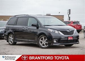 2014 Toyota Sienna SE, Sporty, One Owner, Sunroof, PWR Sliding D