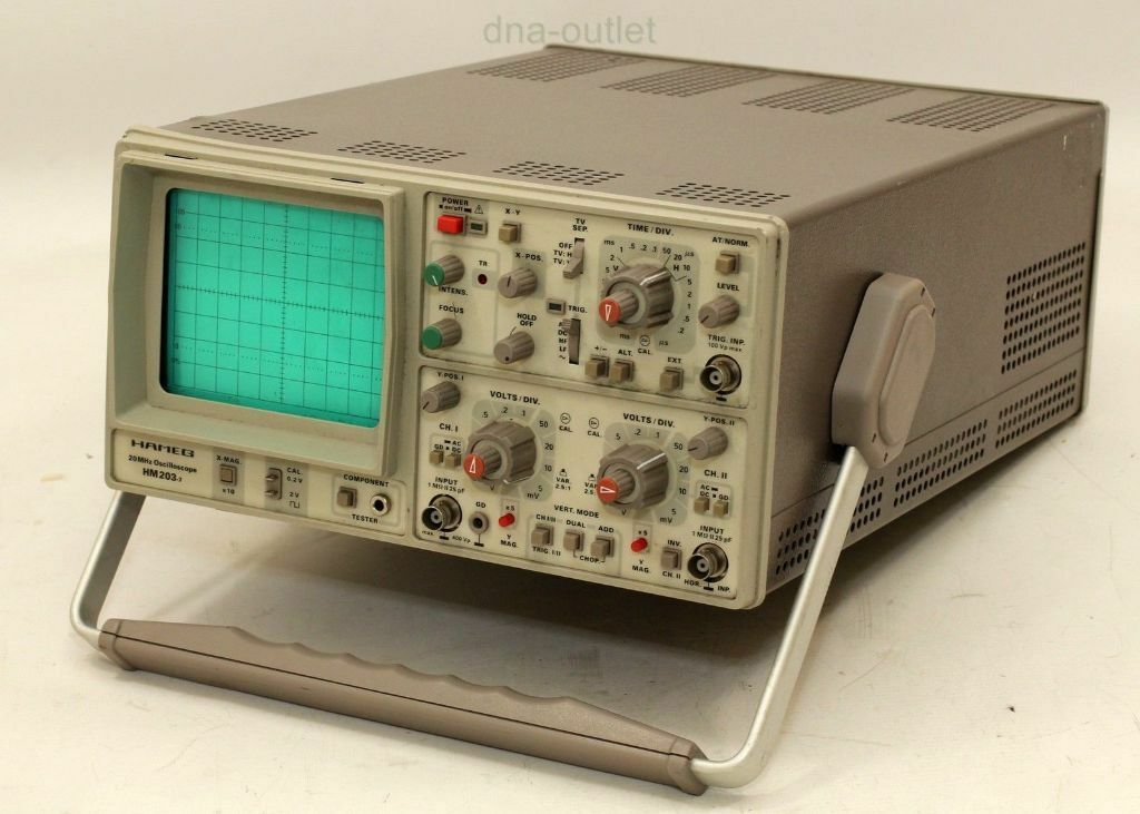 Oscilloscope Model Number : Oscilloscope hameg mhz hm in teignmouth