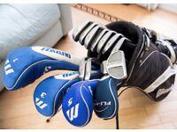 MIZUNO T-ZOID MX-15 STEEL IRONS 3-SW - Left Handed Golf Clubs