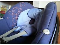 Maxi Cosi Pebble Car Seat in Lapis Blue fits Quinny Bugaboo Icandy Silvercross Oyster
