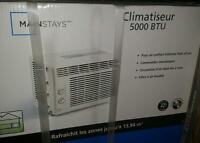 Air conditioner 110$ New in a box