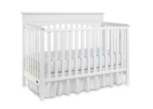 Graco 04530-361 Lauren 4-in-1 Convertible Crib-White (Open Box)