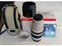 Canon 100mm-400mm MK1 Lens