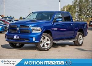 2016 Ram 1500 Sport CREW CAB Over 14K Factory Upgrades!